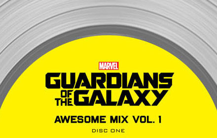 Guardians of the Galaxy Platinum Album